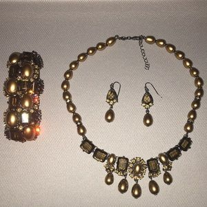Jewelry - Fashion Necklace Bracelet and Earring set